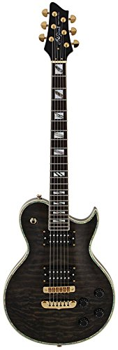 Aria ROYALEB - Guitarra Les Paul Royale, color negro: Amazon.es ...