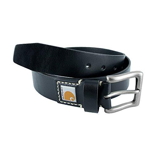 Carhartt Men's Legacy Leather Belt, Black, 36
