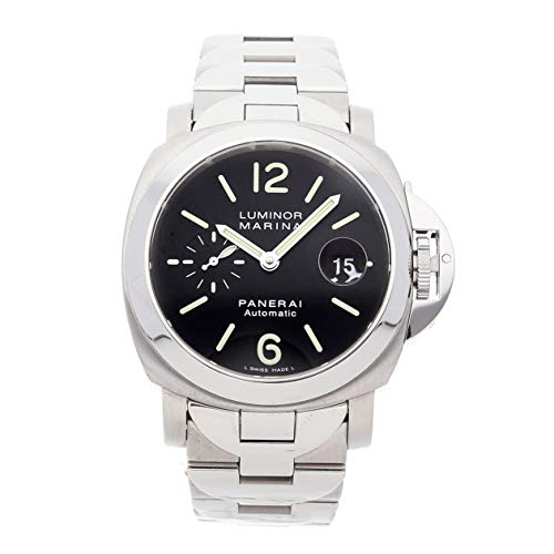 Panerai Luminor Mechanical (Automatic) Black Dial Mens Watch PAM 220 (Certified Pre-Owned)