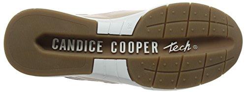 Nude Women's Candice Beige Nappa Cooper Trainers 000 Rqvwc481W