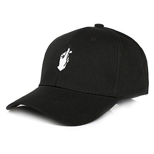 f0db7f7adb7 Amazon.com   ALWLJ Embroidery Bone Baseball Cap Snapback Men Women Sun  Truck Hat Branco   Sports   Outdoors