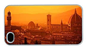 Hipster iPhone 4S cases custom Florence Italy PC White for Apple iPhone 4/4S