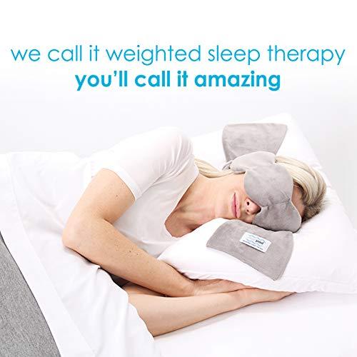 nodpod : microbead weighted sleep mask, gentle pressure = better sleep by nodpod (Image #2)