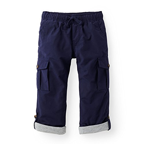 (Hope & Henry Boys' Navy Pull-On Cargo Pants )