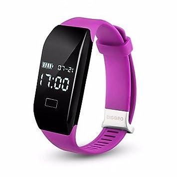 Lemumu 2017 Diggro H3 Smart Watch Cardíaca pulsera Bluetooth 4.0 ...