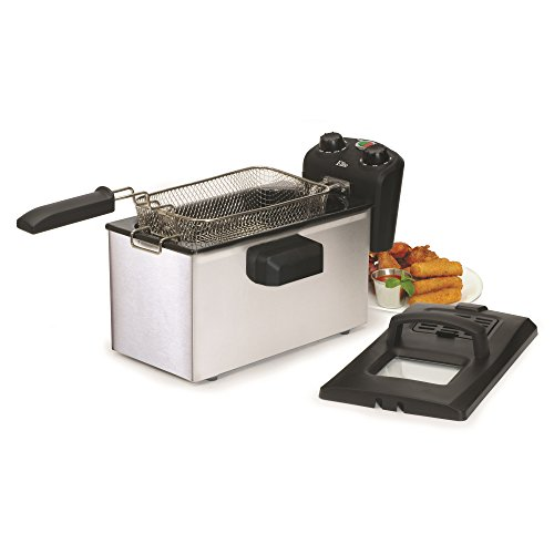3.5qt stainless steel immersion deep fry  -
