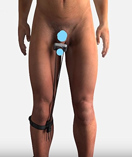 Discreet extender by Still-ON Systems for Natural Male Enlargement. Designed to stretch out the Inner Member hidden in the groin. 3 - Size 2 (Average - Average+) silicons.