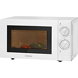 Bomann Microondas 20L Grill MWG 2289 Blanco - Vendedores Amazon ...