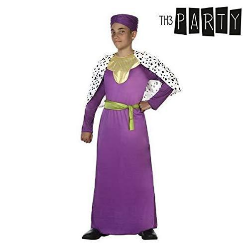 Atosa-31587 Atosa-31587-Disfraz Rey Mago niño infantil-talla 3 a 4 ...