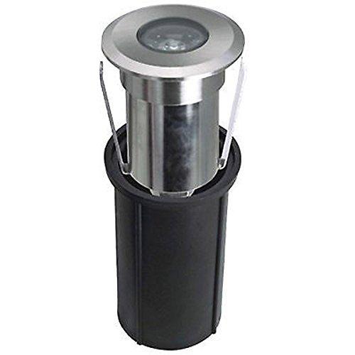 12/V 4500/K empotrable redondo IP68,/para exterior./Foco de inmersi/ón./Luces de colores par LineteckLED/®/- Foco LED para se/ñalar el camino 180/l/úmenes luz natural para piscinas de 2/W