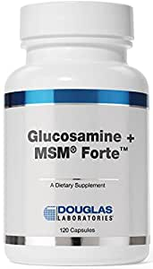Douglas Laboratories® - Glucosamine + MSM® Forte - Nutritional Formulation to Support Maintainance and Health of Aging Joints* - 120 Capsules