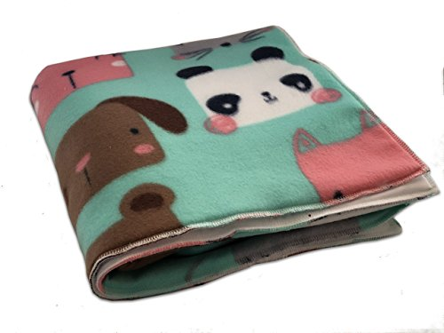 Created By Laura | Cute furry friends Guinea Pig Fleece Cage Liner | Waterproof | Anti-Shrink Design | Handmade With Love For Guinea Pigs | Custom Sizes Offered
