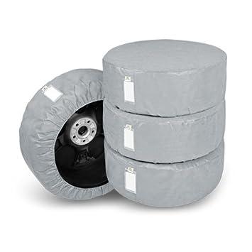 Kegel Fundas Protectoras para neumáticos ruedas y neumáticos: Amazon.es: Coche y moto