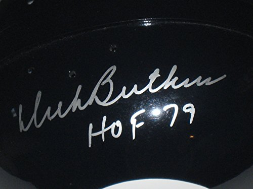 Dick Butkus HOF 79 Autographed Chicago Bears Full Size RK Helmet Tristar COA