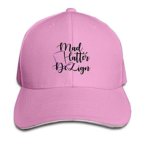Wrpios Men's Athletic Baseball Fitted Cap Hat Cropped Durable Baseball Cap Hats Adjustable Peaked Trucker Cap NJ648