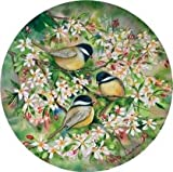 Set of Four Chickadees in Spring Occasions Drink Coasters - Style VKMC38