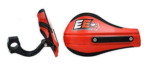 Enduro Engineering Composite Mount Moto Roost Deflector Handguards Red 53-226