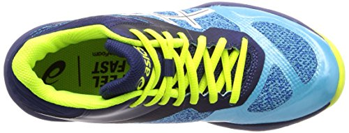 De aquarium Ff Zapatos Mt Mujer Voleibol white 400 Multicolor Para Ballistic Netburner Asics qTwvXpW