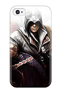 Cute Tpu Juliam Beisel Hq Assasin's Creed Case Cover For Iphone 4/4s