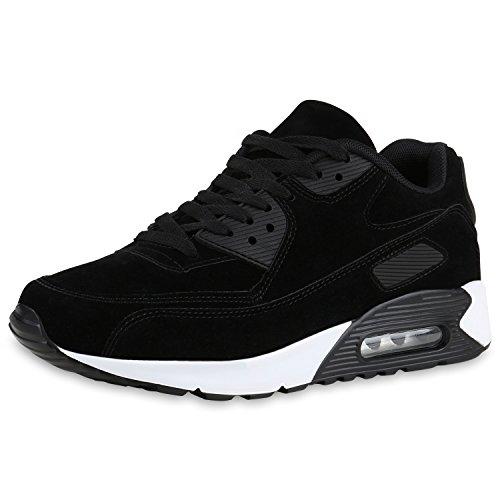 diansen® running Flyknit Boost inspirado entrenador Fitness gimnasio deportes zapatos (tamaño 6–11) Schwarz Black Nero