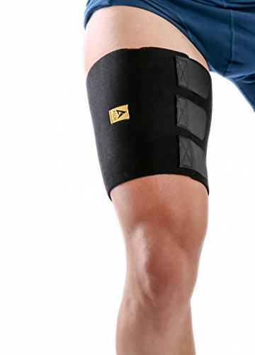 Support Sleeve Thigh - Agon Thigh Compression Sleeve Supports One Size Fits Most