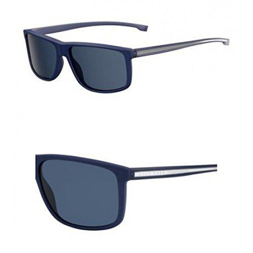 Hugo Boss Mens 0875/S Sunglasses Blue/Blue One - S Sunglasses Men Cheap