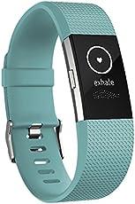 Fitbit Charge 2 Monitor de Actividad, Tamaño Chico, color verde
