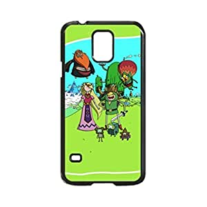 Kingsface Adventure Time The Legend Of Zelda Uniqued Pattern Design Pattern case cover Back case cover for Samsung zeN1Njqu8nn Galaxy S5 i9600 Regular