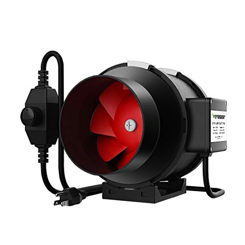 VIVOSUN 6 Inch 390 CFM Inline Duct Fan with