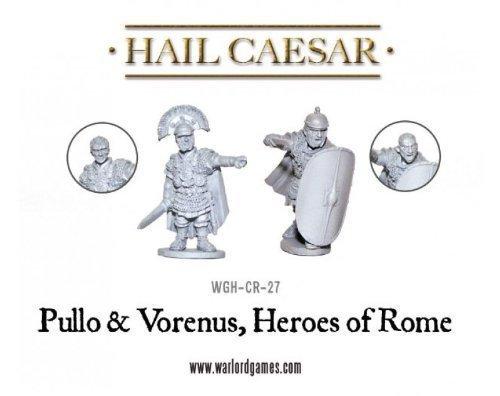 Hail Caesar - Caesarians - Pullo And Verenus Figure