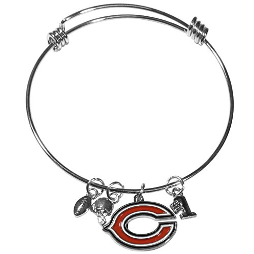 - Siskiyou NFL Chicago Bears Charm Bangle Bracelet