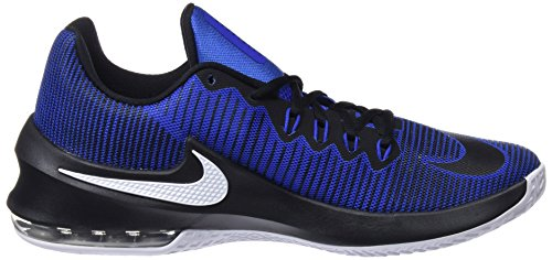 Nike Herren Air Max Infuriate 2 Low Basketballschuhe Blau (Game Royal/black-white 400)