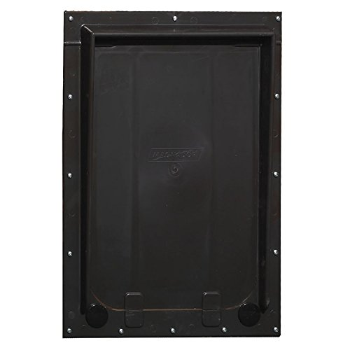 """Magnador Kennel Dog Door, Large Mag 2 - 13"""" X 19.75"""" Flap. Standard Magnet, Bronze"""