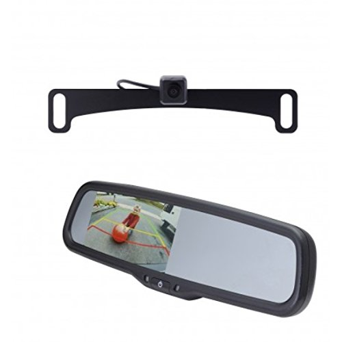 EchoMaster PCam-10I-N Night Vision License Plate Camera with