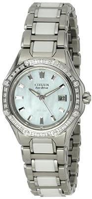 Citizen Women's EW2190-59D The Signature Collection Eco-Drive Octavia Ceramic Diamond Watch