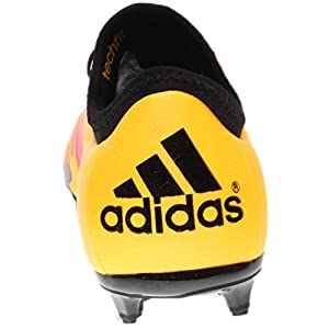 Adidas Soccer Cleats Size 6 - X 15.1 FG/AG Junior, Gold/Black/Pink