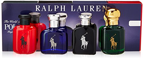 Ralph Lauren Polo Variety 4 Piece Mini Gift Set (Polo Cologne Set Sport)