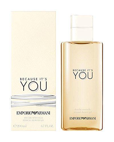 Price comparison product image Giorgio Armani Emporio Armani Because It's You Sensual Shower Gel 200ml/6.7oz