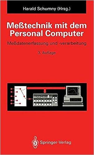 Book Meßtechnik mit dem Personal Computer: Meßdatenerfassung und -verarbeitung