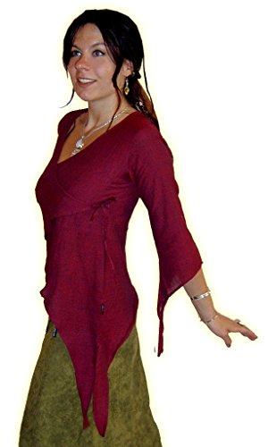 LOTUS MOON - Camiseta de manga larga - para mujer Rosso