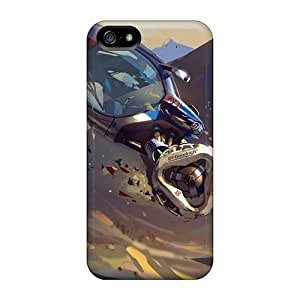 Durable Protector Case Cover With Volkswagen Futuristic Bowler Rally Jump Hot Design For Iphone 5/5s
