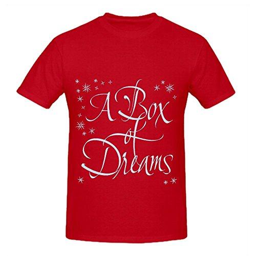 Mos Bacon (Enya A Box Of Dreams Electronica Mens O Neck Custom Shirts Red)