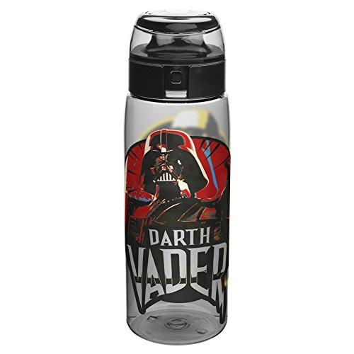 (Zak Designs STAR-K950 Star Wars Water Bottles, Tritan Ep4 Darth Vader)