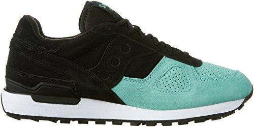 Originele Originaliteit Mens Shadow Original Suede Fashion Sneakers Zwart / Mint