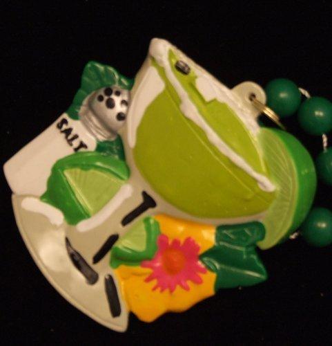 (Margarita Glass Salt Shaker Luau Party Mardi Gras Bead by Beads by the Dozen, Inc.)