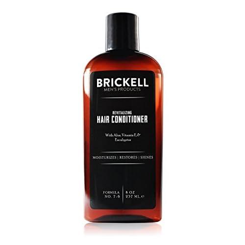 Brickell Men's Revitalizing Hair Conditioner for Men – 8 oz – Natural & Organic free shipping