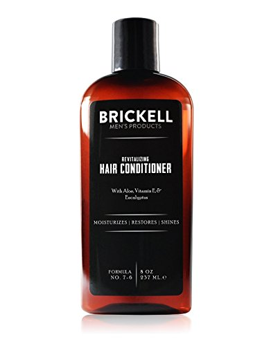 Brickell Men's Revitalizing Hair Conditioner for Men - 8 oz - Natural & Organic