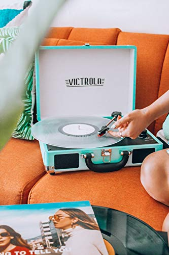 Record Player with built-in speakers