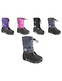 Storm Kidz Unisex Waterproof Cold Weather Snow Boot (Toddler/Little Kid/Big Kid) MANY COLORS