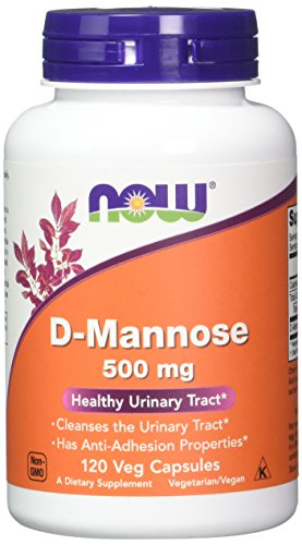 D-Mannose 500mg 120 Capsules (Pack of 2)